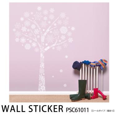 ウォールステッカー クリスタルツリーPSC61012