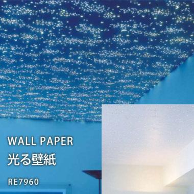 サンゲツ リザーブ のり付き壁紙(クロス)RE7960 光る壁紙
